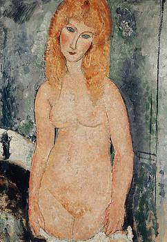 Amedeo Modigliani - Nude Standing