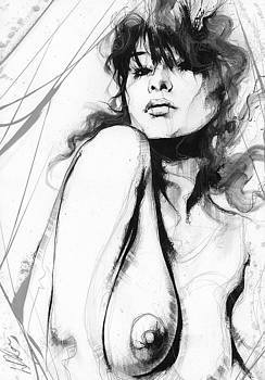 Nude Study 076 by Leanne Dolan