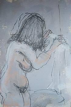 Nude study four by Wendy Head