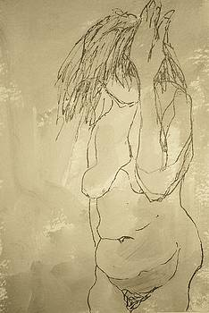 Nude study three by Wendy Head