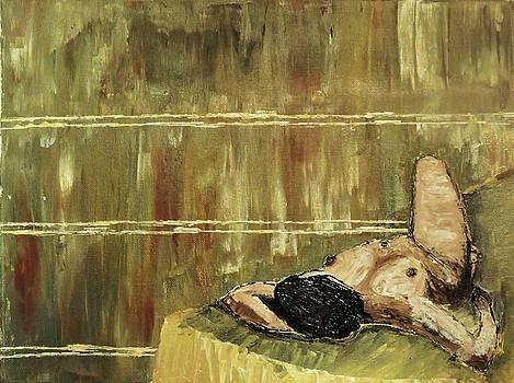 Nude woman by Mario Carta