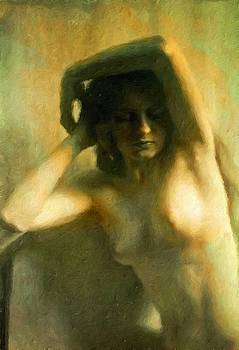 Nude woman by Vincent Monozlay