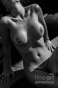 Nude Woman'sTorso by Simon Pocklington
