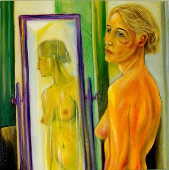 Nudo allo specchio by Francesco Falcolini
