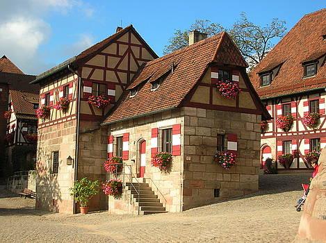 Nuernberg Schloss by Jessica Hoover