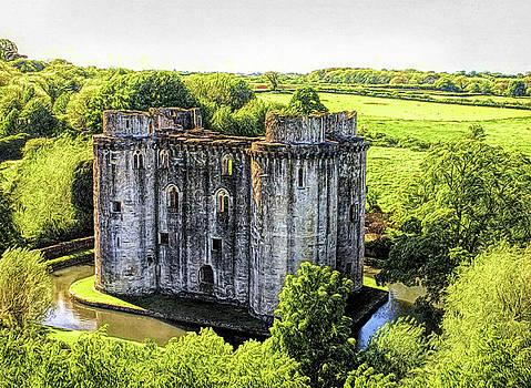 Nunney Castle 2 by Ron Harpham