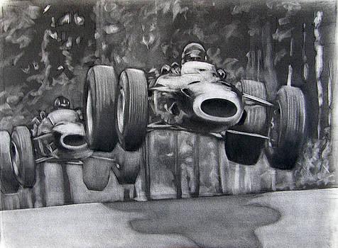 Nurburgring 1965 by Scott Shisler