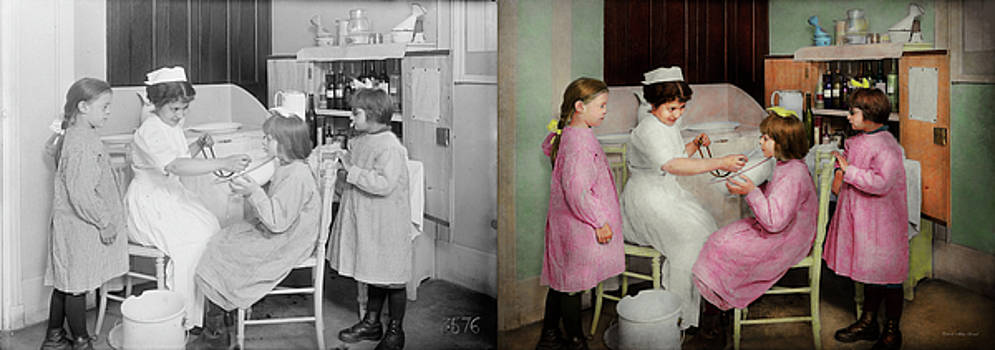 Nurse - Playing nurse 1918 - Side by Side by Mike Savad