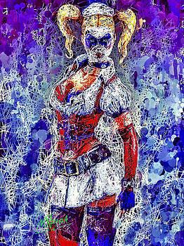 Nurse Harley Quinn by Al Matra