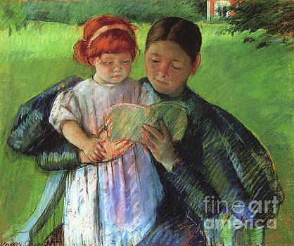 Cassatt - Nurse Reading To a Little Girl