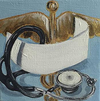 Nursing Cap, Stethoscope by Melissa Torres