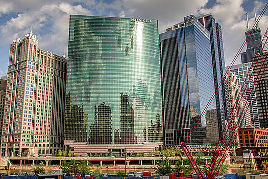 Peter Ciro - Nuveen Building along Chicago River in Chicago