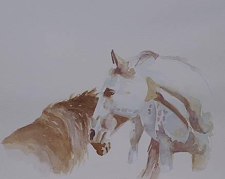 Nuzzle by Gretchen Bjornson
