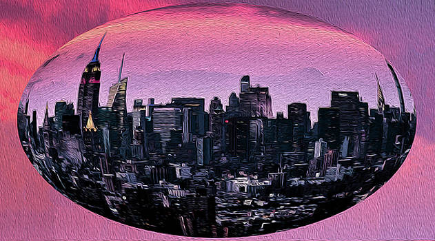 NY in a Bubble 3 by Bruce Iorio