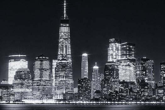 NY Skyline #1 by Dave Schmidt