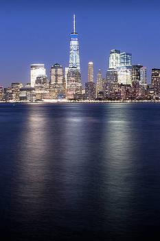 NY Skyline #2 by Dave Schmidt