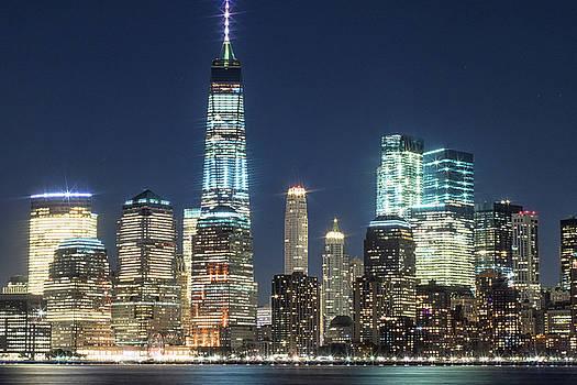 NY Skyline #3 by Dave Schmidt