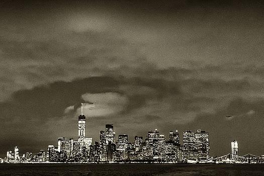 NY Skyline #4 by Dave Schmidt