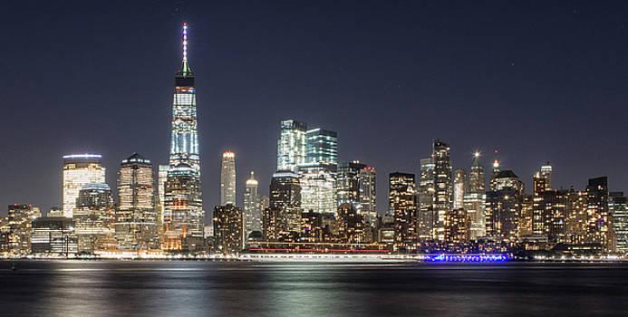 NY Skyline #6 by Dave Schmidt
