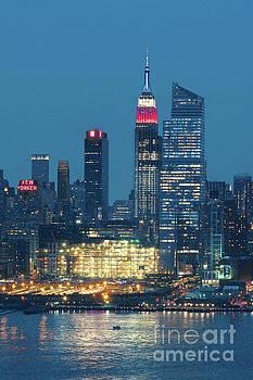 Regina Geoghan - NY Skyline-Celebrating Memorial Day
