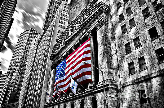 NY Stock Exchange by Alessandro Giorgi Art Photography