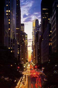 NYC Across Avenues by Archana Doddi