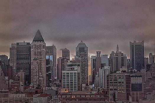 Elvira Pinkhas - NYC at Dawn