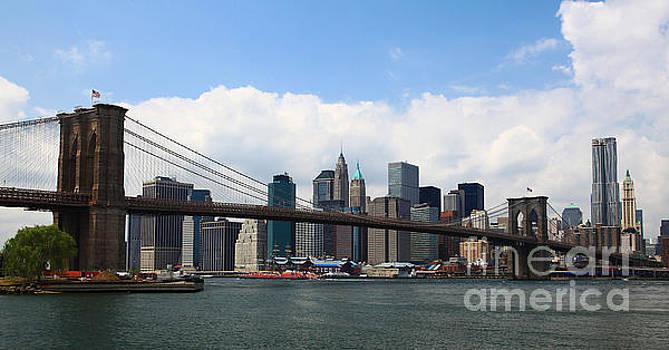 Wayne Moran - NYC Brooklyn Bridge Midday l