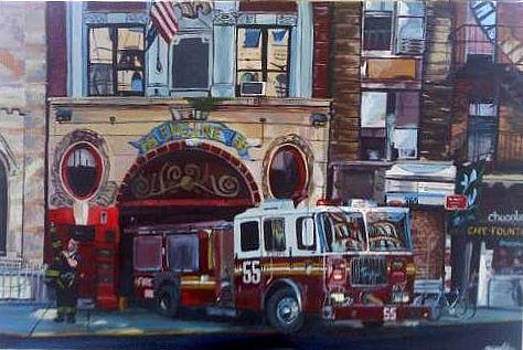 NYC Fire Department by Karina Alfaro