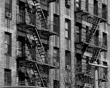 NYC Fire escapes by Katie Victoria