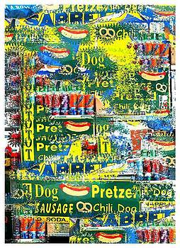 NYC Hot Dog by Alexander Aristotle - New York City Artist