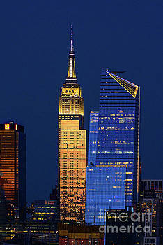 Regina Geoghan - NYC in Blue and Gold