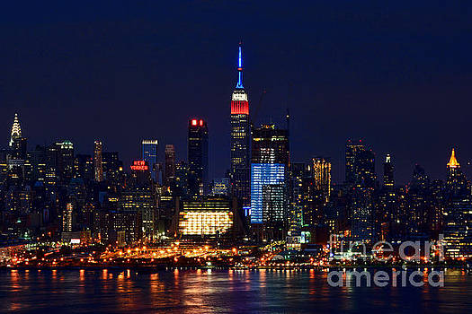 Regina Geoghan - NYC July4th Red White and Blue