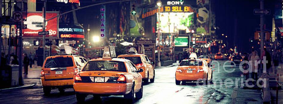New York City Night Drive by RicharD Murphy
