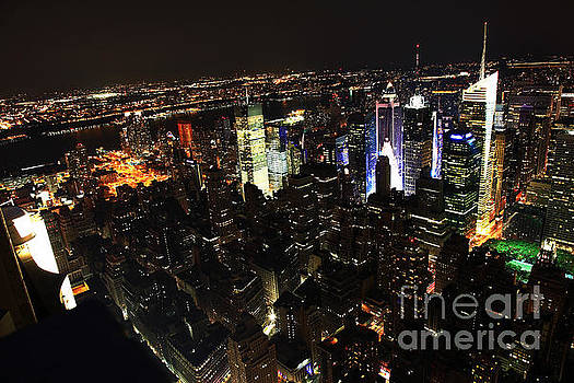 Wayne Moran - NYC Skyline at Night II