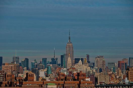 NYC Skyline I by Dawn Wayand