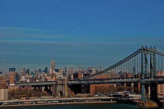 NYC Skyline II by Dawn Wayand