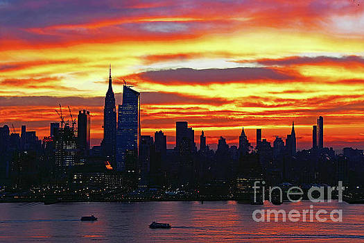 Regina Geoghan - NYC Sunrise Day One of Winter