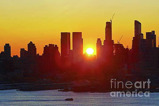Regina Geoghan - NYC Sunrise September