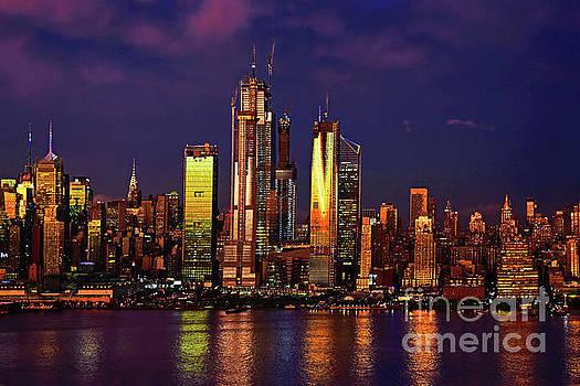 Regina Geoghan - NYC-Sunset Glow to Twilight