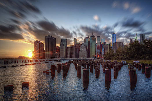 NYC Sunset by Kim Zier