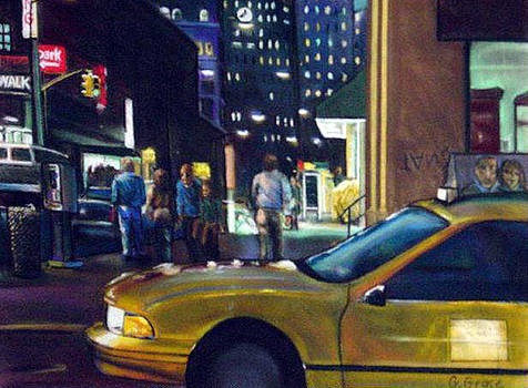 NYC Taxicab by George Grace