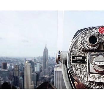 #nyc #topoftherock #empirestatebuilding by Shauna Hill