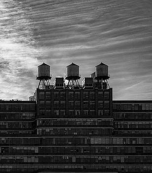 New York Water Towers by Michael Hope