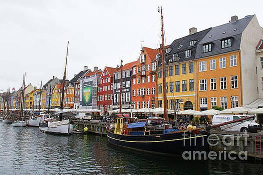 Nyhavn, Copenhagen by Denise Lilly