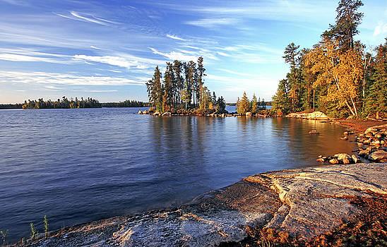 Nym Lake Landing by Bill Morgenstern