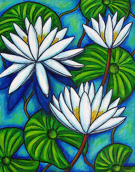 Nymphaea Blue by Lisa  Lorenz