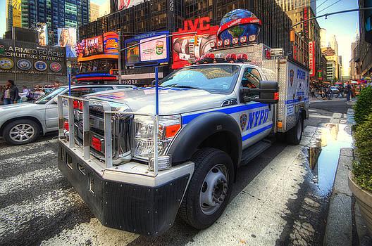 Yhun Suarez - NYPD Truck