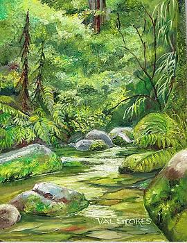 NZ Bush ramble by Val Stokes