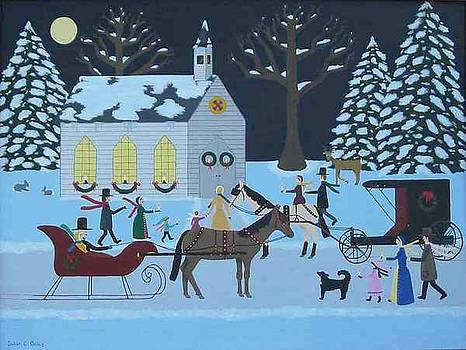 O' Holy Night by Susan Houghton Debus
